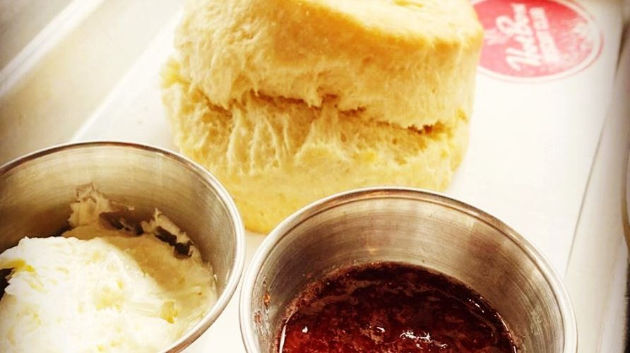 THE BEST BUTTERMILK BISCUIT w/THAT'S MY JAM & WHIPPED BUTTER